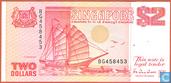 2 Dollars de Singapour