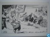 Nieuwjaarskaart Le Chat Mort 2001