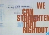 "U000207 - Hogeschool voor de Kunsten Arnhem ""We Can Straighten That Right Out """