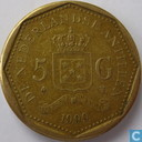 Netherlands Antilles 5 gulden 1999