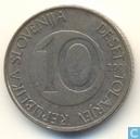 Slowenien 10 Tolarjev 2001