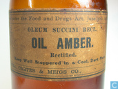 """Most valuable item - Amber bottle with """"OIL AMBER"""" label ...."""