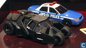 Batmobile Tumbler & GPD Police Car set Batman Begins