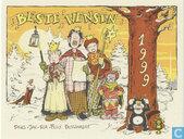 Jan Bosschaert Nieuwjaarskaart 1999