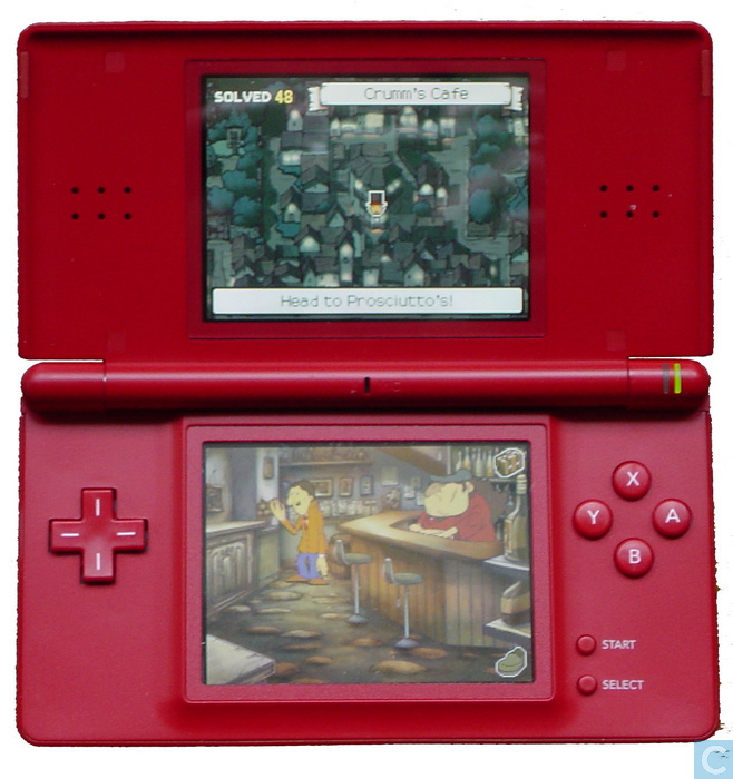 nintendo ds lite red 1 consoles hardware catawiki. Black Bedroom Furniture Sets. Home Design Ideas