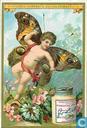 Schmetterlinge III Amoretten mit Flügeln