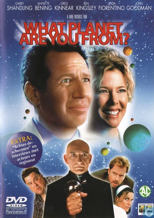 what planet are you from  - dvd
