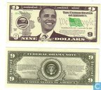 Federal OBAMA note 2009