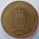 Niederländische Antillen 5 Gulden 1998
