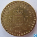 Antilles néerlandaises 5 gulden 1998
