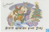 Luc Morjeau nieuwjaarskaart  2005