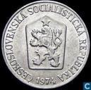 Czechoslovakia 5 haleru 1974