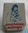 Amsterdamse halfpondjes (meisje)
