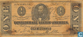 Confederate States 1 Dollar