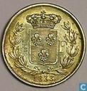 """Frankreich ½ Franc 1833 """"Henri V"""""""