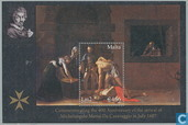 Aankomst Caravaggio
