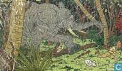 "Comics - Kuifjesbon producten - Kuifje's puzzle karton ""In Congo"""