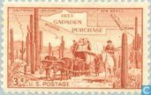 Postage Stamps - United States of America [USA] - Gadsden Purchase 1853 ad