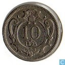Oostenrijk 10 heller 1894