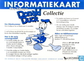 Informatiekaart Walt Disney's Donald Duck Collectie