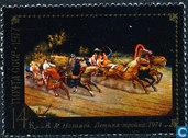 Peintures miniatures de Fedoskino