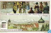 Oesterreichische Volkstrachten und Städte