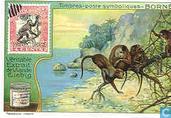 Symbolische Briefmarken