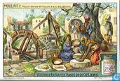 Das Mahlen des Getreides zu verschiedenen Zeiten