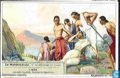 Das Mahabharata indische Heldensage