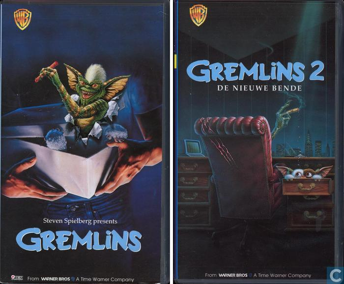 gremlins collection vhs video tape catawiki