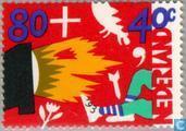Kinder Briefmarken (14 : 13½)