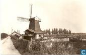 Molen de Windhond a.d. Noordendijk omstr.