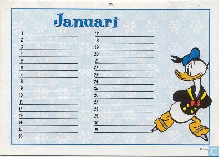 Verjaardagskalender Walt Disney Catawiki