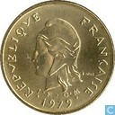 Nieuwe Hebriden 2 francs 1979