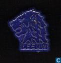 Leeuw [goud op blauw]