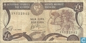 Chypre 1 Pound 1992
