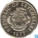 Seychelles 25 cents 1977