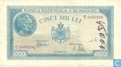 Romania 5,000 Lei 1943
