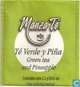 Té verde y Piña