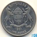 Botswana 50 thebe 1991
