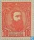 Leopold II drie kwart rechts
