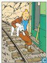 Kuifje 042 kuifje op trein