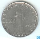 Vatican 100 lire 1957