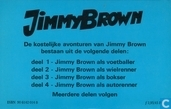 Comic Books - Jimmy Brown - Jimmy Brown als wielrenner