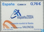 Int. ESPANA '04 stamp exhibition