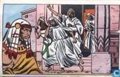 De vlucht van de dienstmaagden bij de dood van Psaroe