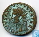 Munten - Romeinse Rijk - Romeinse Keizerrijk Postume Dupondius van Keizer Augustus 22-23 n.Chr.