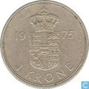 Danemark 1 krone 1975