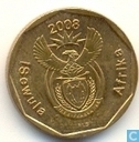 Coins - South Africa - South Africa 20 cents 2008