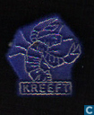 Kreeft [gold on blue]